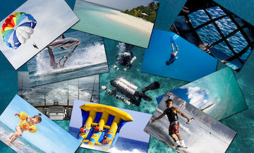 SCUBA diving, watersports and island tours